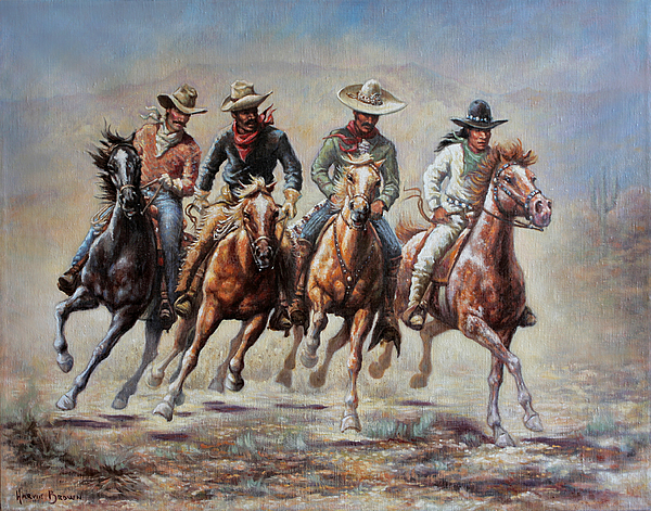 The Cowboys by Harvie Brown